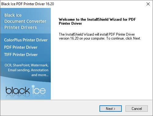 Installing the PDF Printer Driver on Windows Server 2019/2016/2012