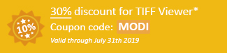 30% discount for TIFF Viewer Coupon code: MODI
