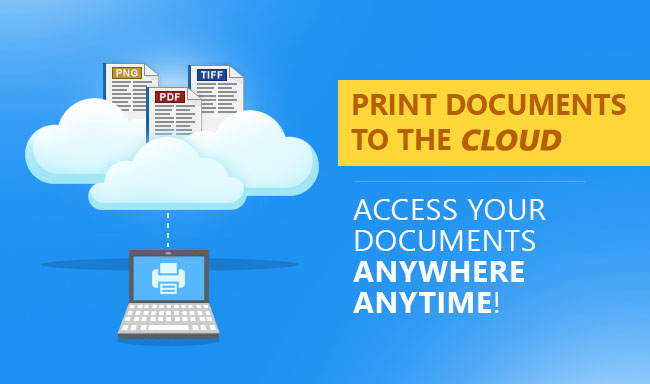 Print Documents To The Cloud!